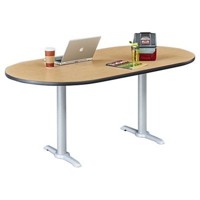 """Frappe Oval Table - 72""""W"""