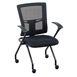 Perspective Mesh Back Nesting Chair