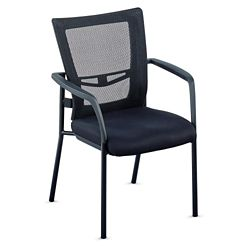 Perspective Mesh Back Guest Chair