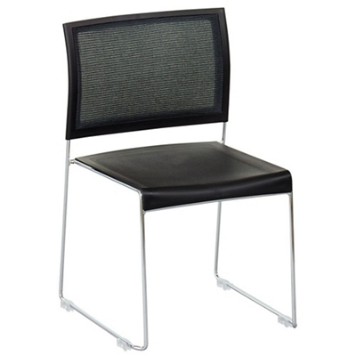 Facet Modern Mesh Back Stack Chair