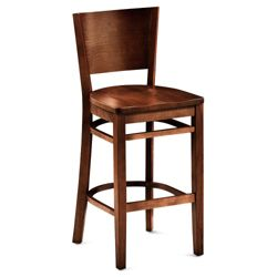 Rustico Solid Wood Cafe Stool