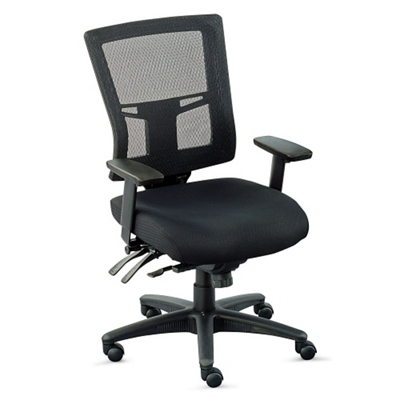 perspective mesh midback chair