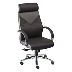 Highland Two Tone Leather Executive Chair