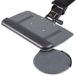 Solutions Keyboard Tray with Swivel Mouse Platform