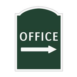 Office Right Outdoor Sign