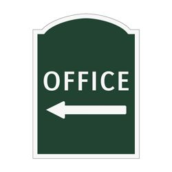 Office Left Outdoor Sign