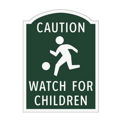 Caution Watch For Children Outdoor Sign
