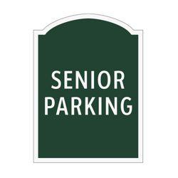 Senior Parking Outdoor Sign