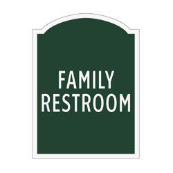 Family Restroom Sign
