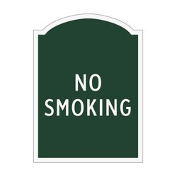 No Smoking Outdoor Sign