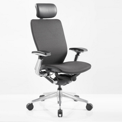 High Back Mesh Ergonomic Computer Chair with Black Frame
