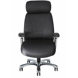 Fabric Executive Chair with Chrome Frame