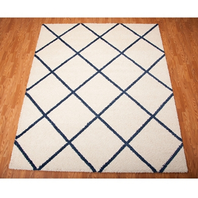 Diamond Area Rug 8.17'W x 10'D