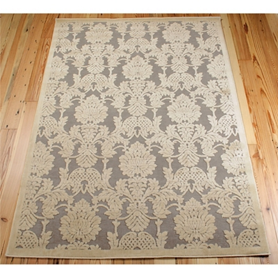 Damask Area Rug 7.75'W x 10.83'D