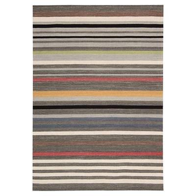 kathy ireland by Nourison Multicolor Stripe Area Rug 5.25'W x 7.5'D