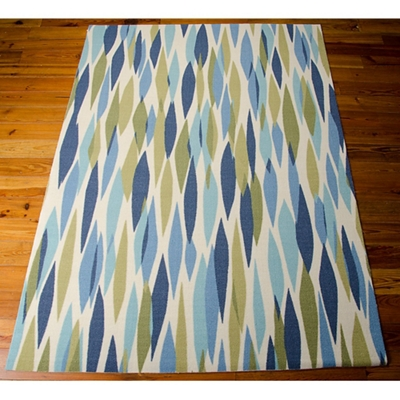 Diamond Print Area Rug 5.25'W x 7.42'D