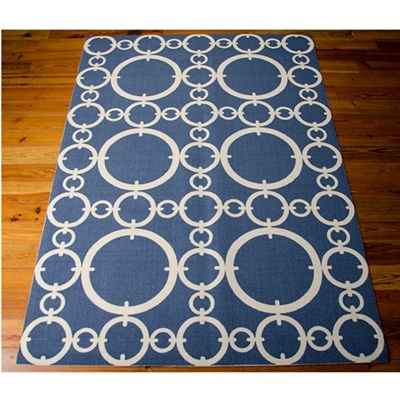 Chain Link Area Rug 10'W x 13'D