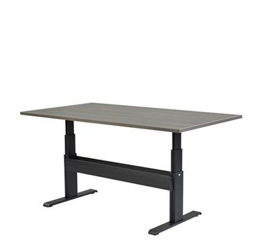"Meridian Adjustable Height Conference Rectangular Table - 84""W x 42""D"