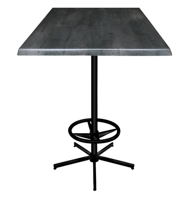 "30"" Square Indoor/Outdoor Table - 42""H"