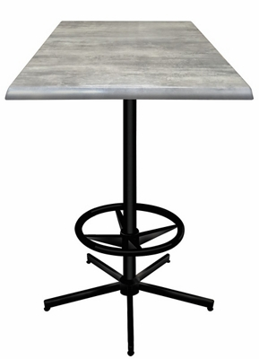"""36"""" Square Indoor/Outdoor Table - 42""""H"""