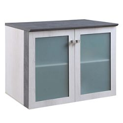Allure Storage Cabinet with Glass Doors