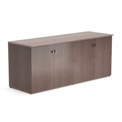 """Diamond 72""""W x 29.5""""H Low Wall Cabinet with Wood Doors"""