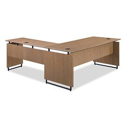 "Summit Executive Reversible L-Desk - 72""W x 78""D"