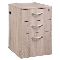 "Allure 15.5""W Three Drawer File Pedestal"