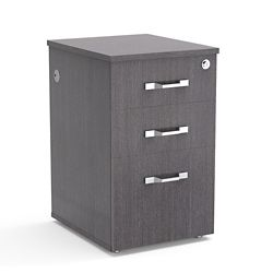 "Diamond 15.5""W Three-Drawer File Pedestal"