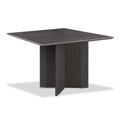 "Diamond 48"" Wood Veneer  Square Meeting Table"