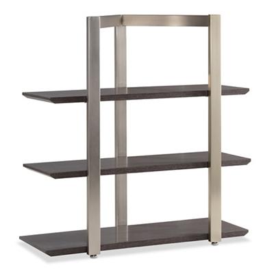 "Diamond 39""H Three-Shelf Bookcase"