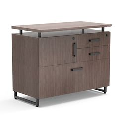 "Summit 36""W Lateral File with Storage"