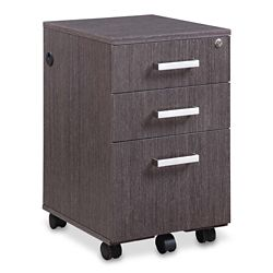 "Summit 15.5""W Three-Drawer Mobile Pedestal"