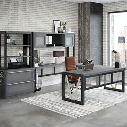 District U-Desk Office Set