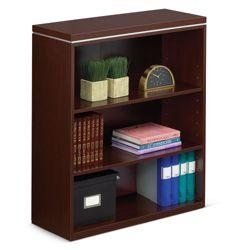 "Reveal 42""H Three Shelf Bookcase"