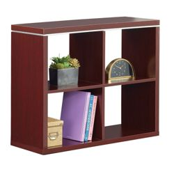 "Reveal 30""H Four Cube Bookcase"