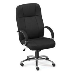 Que Fabric High Back Chair