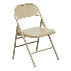 Treble Steel Folding Chair