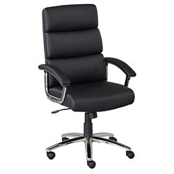 Segment Faux Leather Conference Chair