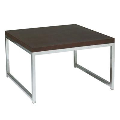 Wood Veneer Accent Table