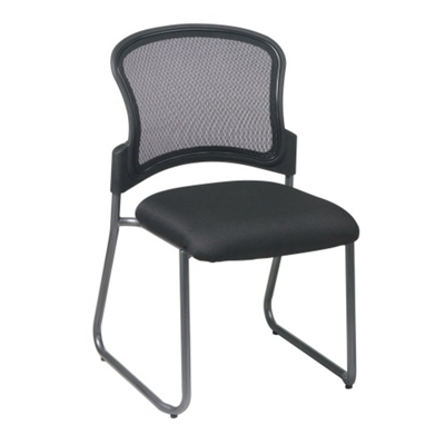 Sled-Base Mesh-Back Visitors Chair