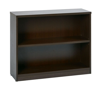 "Two Shelf Laminate Bookcase - 30""H"