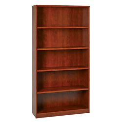 "Five Shelf Laminate Bookcase - 72""H"