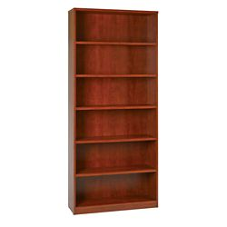 "Six Shelf Laminate Bookcase - 84""H"