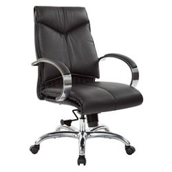 Mid Back Leather Manager's Chair