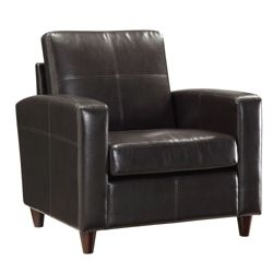 Eco Leather Contemporary Club Chair