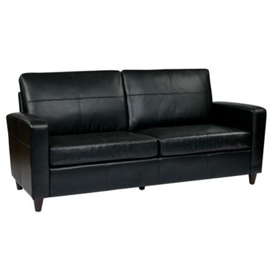 Eco Leather Contemporary Sofa