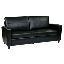 Eco Leather Contemporary Sofa