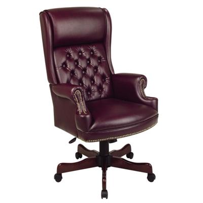 Traditional Executive Vinyl Chair