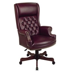 Traditional Executive Vinyl Chair